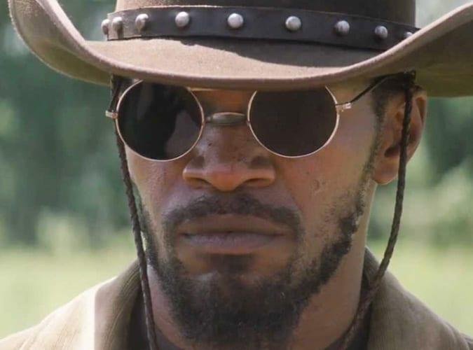 Jaime Foxx In Django Unchained