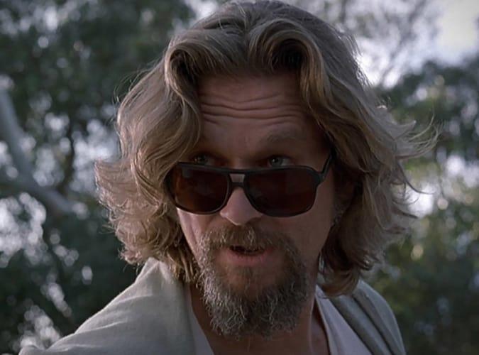 Jeff Bridges As The Dude In The Big Lebowski