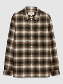 Jack Wills Berton Heavy Weight Wool Blend Overshirt