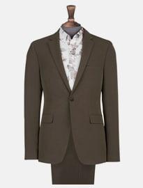 Burton 2 Piece Forest Stretch Slim Fit Suit
