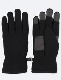 Uniqlo Men Heattech Lining Fleece Gloves