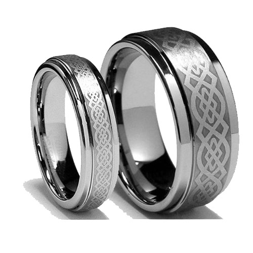 Celtic Wedding Ring Titanium Fashion Belief