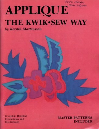 Applique The Kwik-Sew Way