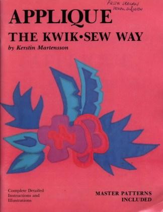Applique The Kwik-Sew Way