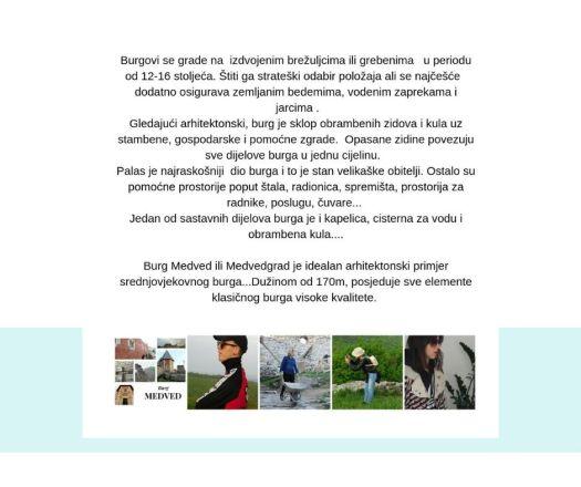 Medvedgrad - Bourg Medved