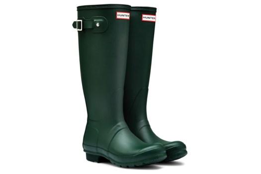 Hunter boots -original green hunter color