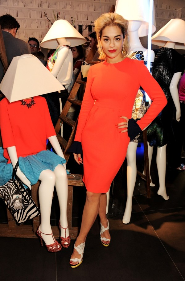 Rita Ora Launches British Designers' Collection At Bicester Vill