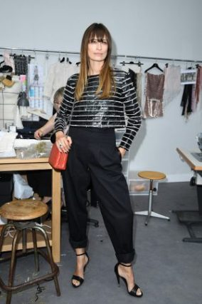 PARIS, FRANCE - JULY 05: Caroline de Maigret attends the Chanel Haute Couture Fall/Winter 2016-2017 show as part of Paris Fashion Week on July 5, 2016 in Paris, France. (Photo by Pascal Le Segretain/Getty Images)