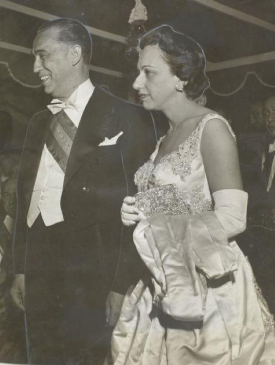 Juscelino e Sarah Kubitschek nos anos 50