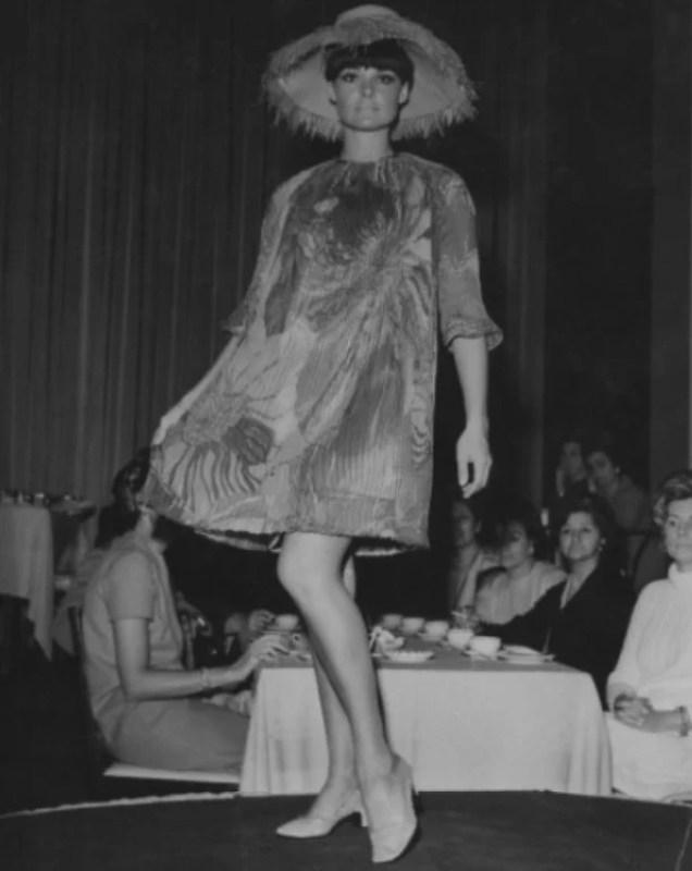Desfile da coleção de Zuzu Angel Fashion and Freedom, 1967.