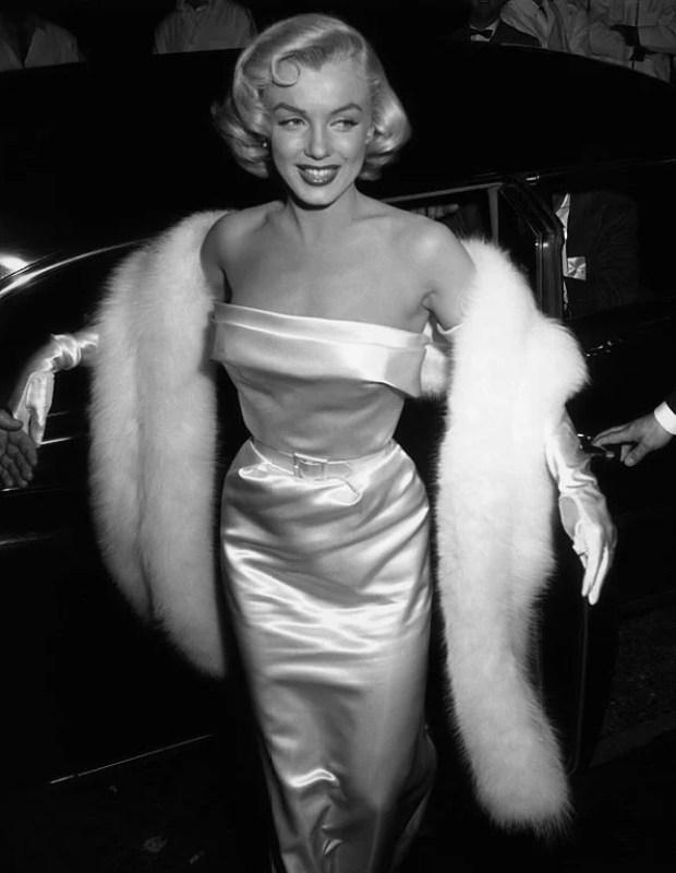 Marylin Monroe em 1954.