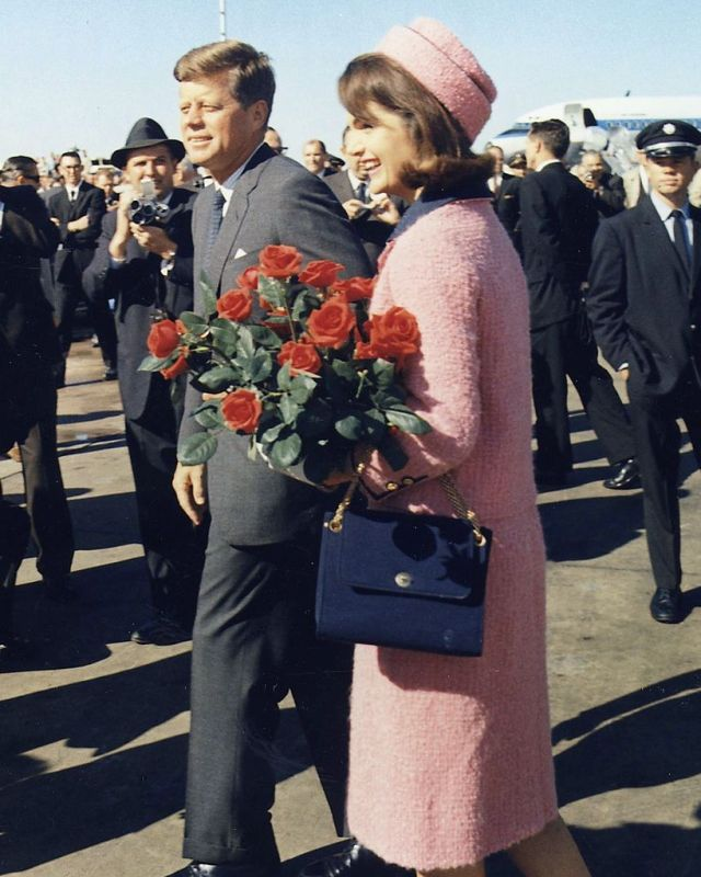 Jackie e John F. Kennedy em 1963.