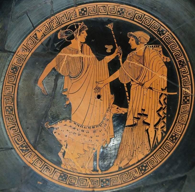 Apolo e Ártemis, cerca de 470 a.C.