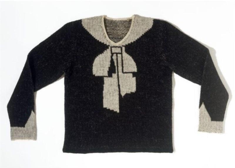 Cravat Jumper de Jeanne Schiaparelli, de 1927.