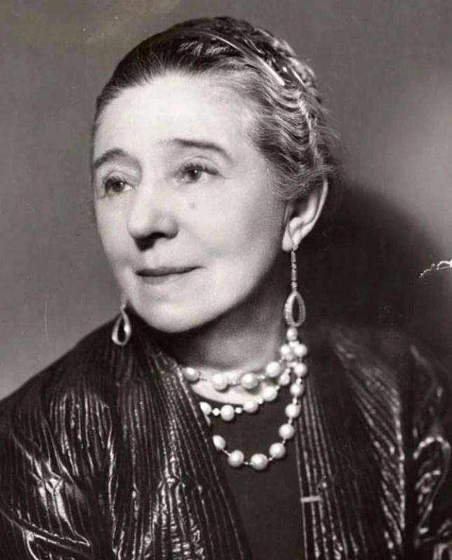 Retrato de Jeanne Lanvin, 1934.
