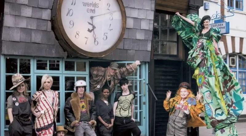 A loja World's End de Vivienne Westwood.