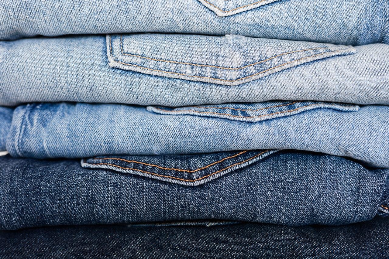 Diversas lavagens de Jeans.
