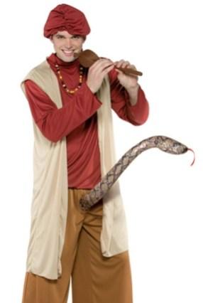 fantasia encantador de serpentes