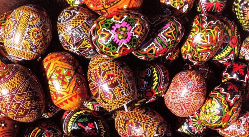Ovo de Páscoa tradicional da Grécia.