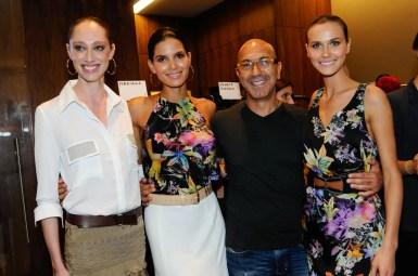 Talytha Pugliesi, Raica Oliveira, Raphael Sayhoun e Renata Kuerten
