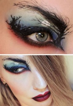 15-Scary-Halloween-Zombie-Eye-Make-Up-Looks-Ideas-For-Girls-2014-9