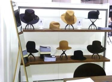 Destaque para os chapéus