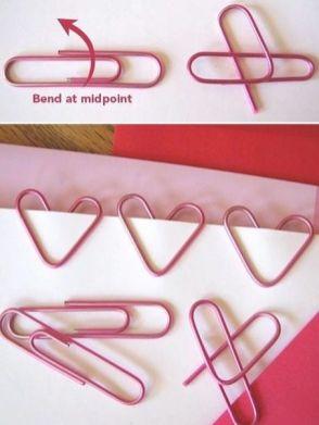 transforme clips comum em clips de coração
