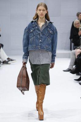 Modelos diferentes de jaquetas jeans - Vogue