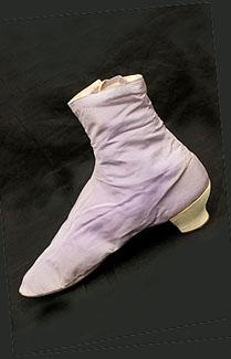 Sapato da Era Vitoriana de 1865