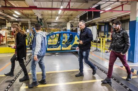Visita a Fábrica da Ford em São Bernardo do Campo - Vinícius Moura e blogueiros