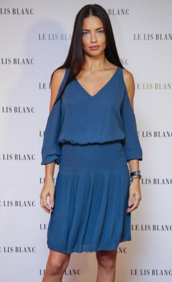 Adriana Lima - verão 2017 da Le Lis Blanc