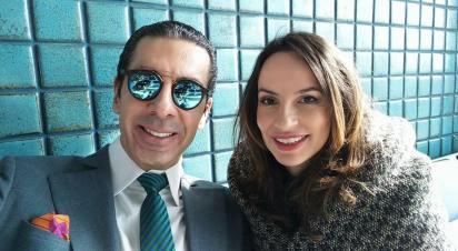 Alexandre Taleb e Denise Pitta