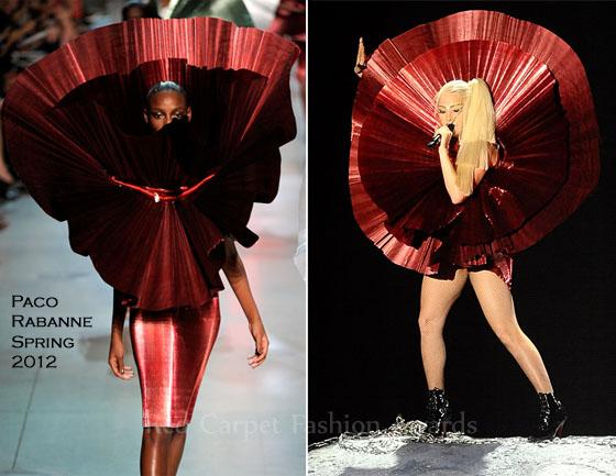 Lady-Gaga-Paco-Rabanne Manish Arora
