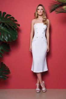Vestido branco do verão 2017 - FRUTACOR VERÃO 2017