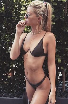 Biquíni com suporte - A marca australiana Bamba pipocou em vários perfis do Instagram 1