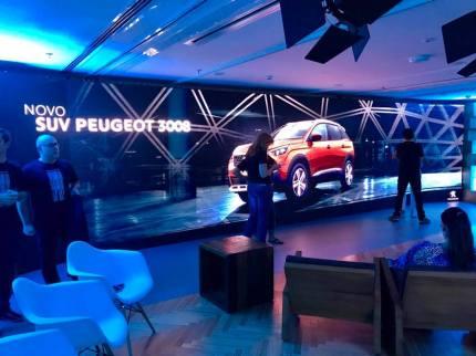 Apresentação do novo Peugeot 3008