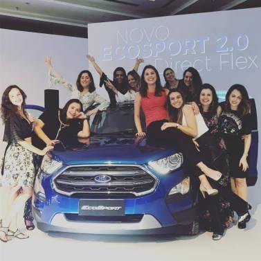blogueiras no lançamento do Novo Ford Ecosport
