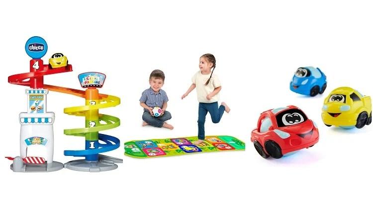 Brinquedos da marca Chicco