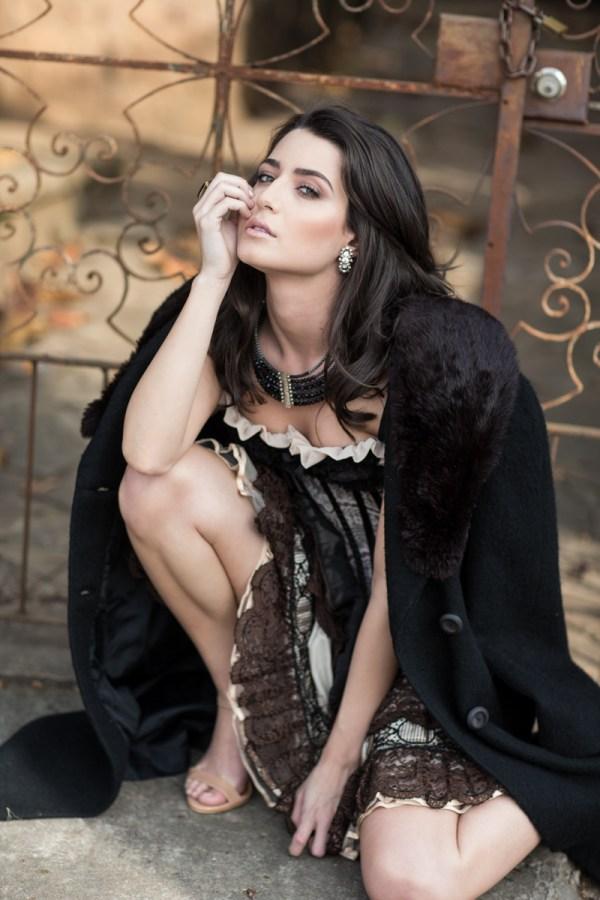 Ensaio do Fashion Bubbles explorando o univerno das lingeris com a modelo Noelle Jacobucci