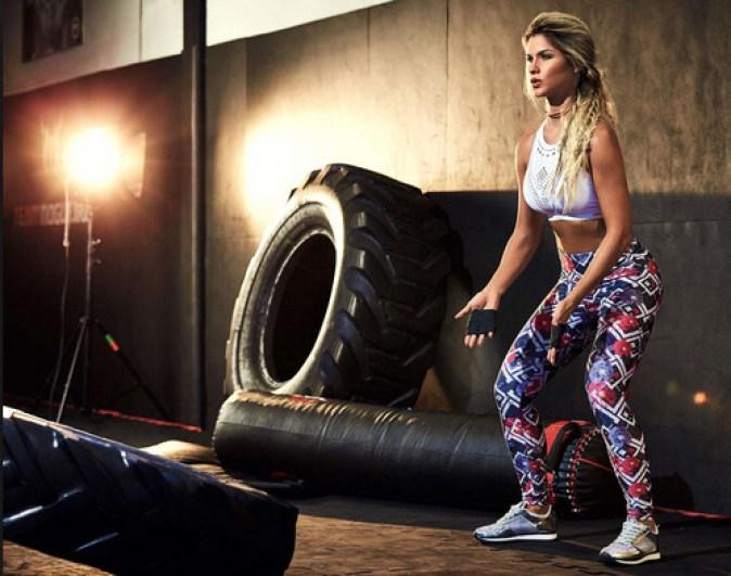 Fitness - Foto de mulher em treino de crossfit - Onda Fitness
