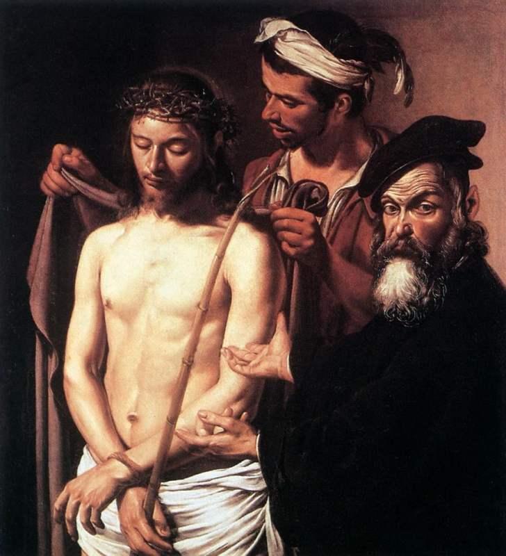 Ecce Homo, 1605. Crédito: Caravaggio.