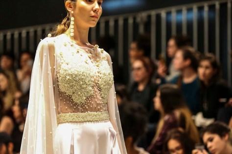 Detalhe - Carlina Brugnera - Desfile Id Fashion Moda festa