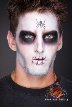 make-masculino-halloween-