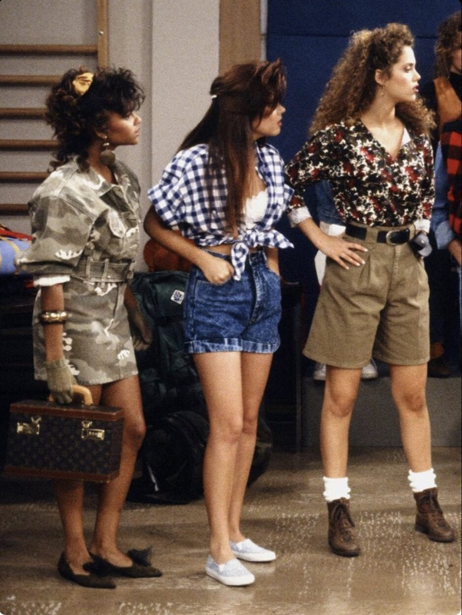 camisa xadrez amarrado - moda anos 90