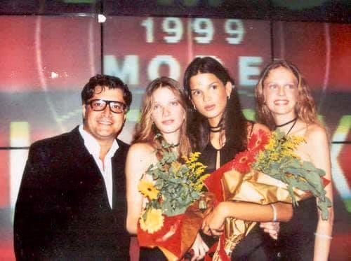 1999 - Final do Elite Look com Raica