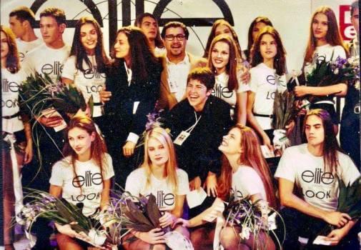 1995 - Final do Elite Model Look em Porto Alegre com Alessandra Ambrósio New Face