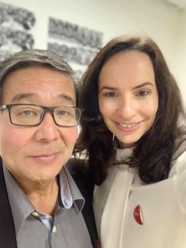 Denise Pitta e Mitsuro Yanaze