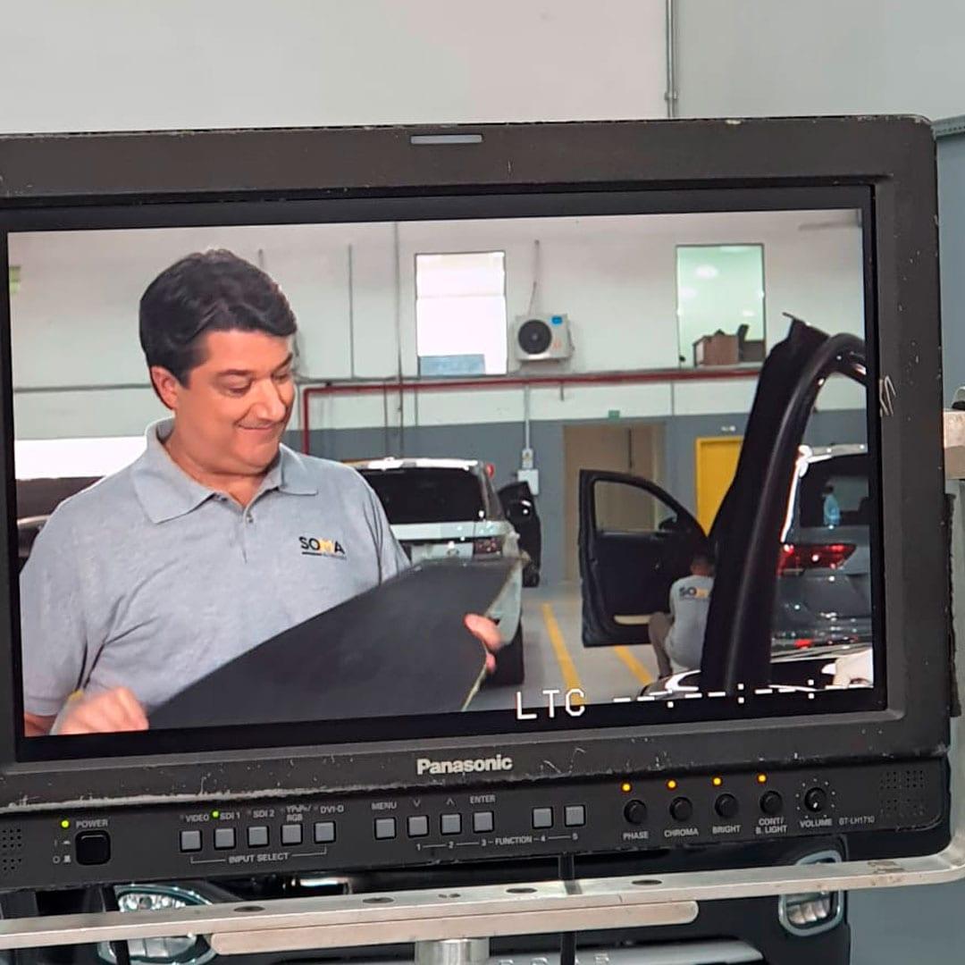 Sandro Giaffone, da SOMA Blindados, apresenta dicas para segurança