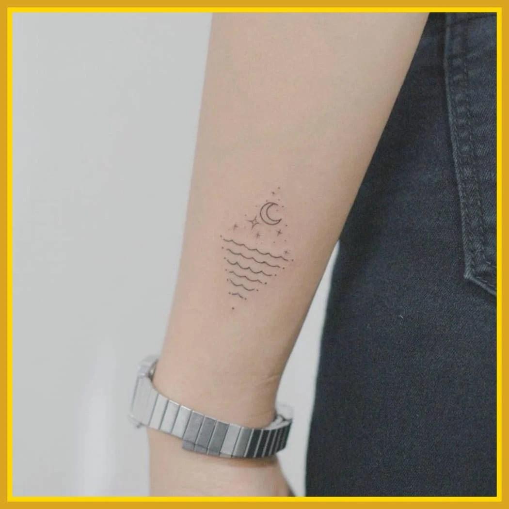 tendencias para tatuagem 2021 5 minimalista