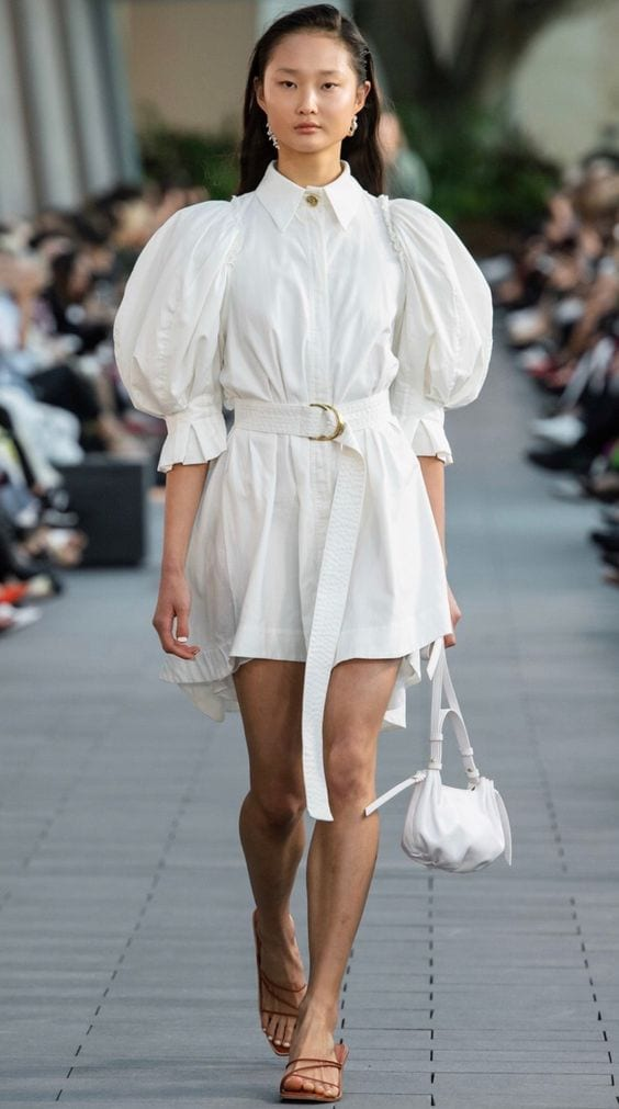 vestidos brancos 2020 mini